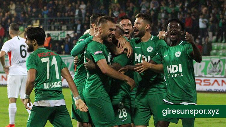 Giresunspor Balıkesirspor Maçı Hazırlıklarını Tamamladı