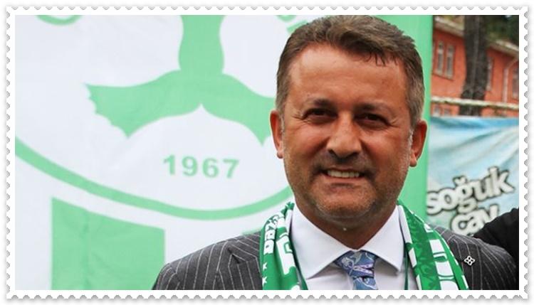 Giresunspor Başkanı Karaahmet Açıklama Yaptı
